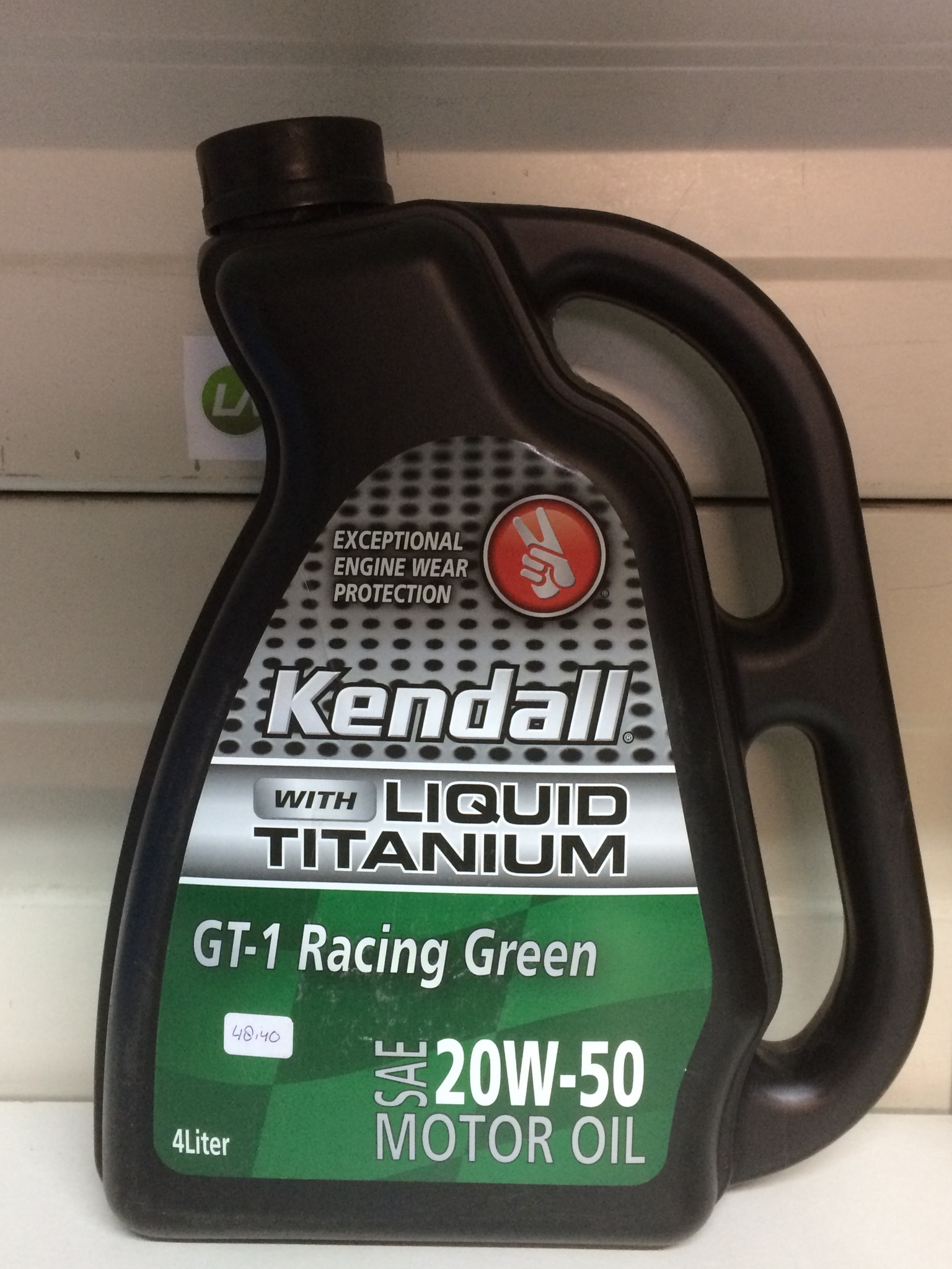 Kendall GT-1 Racing Green 20W50